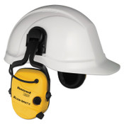 Honeywell Impact Earmuffs, 21 dB NRR, Yellow, Cap Attached, 1/EA, #1010632