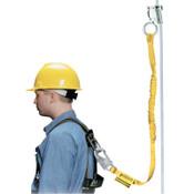 Honeywell Rope Grabs, 4 ft, 310 lb, Yellow, 1/EA, #8174MLS4Z74FTYL