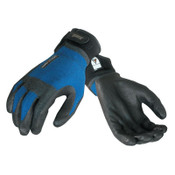 Ansell ActivARMR HVAC Gloves, Medium, Black/Blue, 12 Pair, #106426