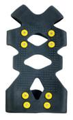 Ergodyne Trex 6300 Ice Traction Foot Covers, Medium, Rubber, Black, 6/CA, #16753