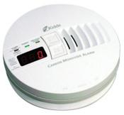Kidde Carbon Monoxide Alarms w/ Digital Display, Carbon Monoxide, Electrochemical, 6/CA, #21006407
