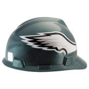 MSA Officially-Licensed NFL V-Gard Helmets, 1-Touch, Philadelphia Eagles Logo, 1/EA, #818406