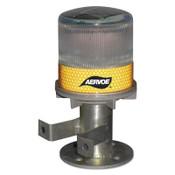 Aervoe Industries Solar Powered Strobe, w/Bracket, Yellow, 4/CA, #1198