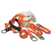 Honeywell Titan II ReadyWorker Fall Protection Kits, Mating Leg Strap Buckles, 6 ft Strap, 1/EA, #TFPK4U6FTAK