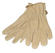 Anchor Products Pigskin Drivers Gloves, Large, Unlined, Gold, 72/CS, #102082L