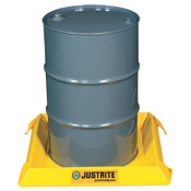 Justrite Maintenance Spill Containment Berms, Yellow, 10 gal, 2 ft x 2 ft, 1/EA, #28400