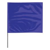 Presco Stake Flags, 2 in x 3 in, 24 in Height, Blue, 1000/BOX, #2324B