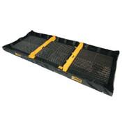 Justrite Decon Quickberm, Black, 478 gal, 16 ft x 6 ft, 1/EA, #28572