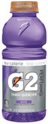 Gatorade G2 20 Oz. Wide Mouth, Grape, Bottle, 24/CA, #20406