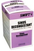 Honeywell Sinus Decongestant Tablets, 1/BX, #2106100