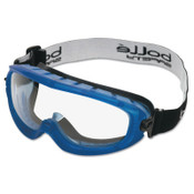 Bolle Atom Safety Goggles, Clear/Blue, Indirect Lower Vents, 1/PR, #40092