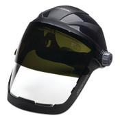 Jackson Safety QUAD 500 FCSH CH GRD CLPC AF W/SH8 FLIP 370 HDG, 1/EA, #14233