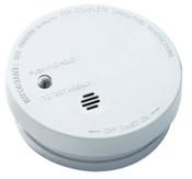 Kidde Battery Operated Smoke Alarms with Hush, Ionization Sensor, 12/CA, #0916E