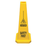 Cortina Lamba Safety Cone, Safety First, Yellow, 5/CA, #360004