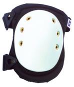 Alta AltaFlex Hard Cap Knee Pads, AltaLOK Easy On/Off, White/Black, 1/PR, #50403