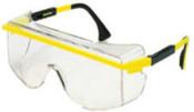 Honeywell Astrospec 3000 OTG Replacement Lenses, Gray, Ultra-dura Hard Coat, 10/BOX, #S562