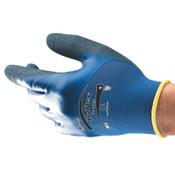 Ansell HyFlex 11-925 Gloves, Size 10, Nitrile/Spandex, Blue, 12 Pair, #810611
