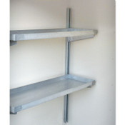 Justrite Safety Locker Shelving, 16 in X 48 in X 2 in, 1/EA, #915101