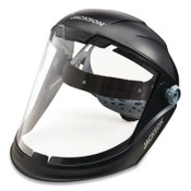 Jackson Safety MAXVIEW FACESHIELD, CLEAR PC, 370 HDGR, 1/EA, #14200