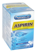 First Aid Only PhysiciansCare Aspirin, 325 mg, 100 per box, 1/BX, #90014