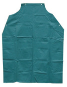 Anchor Products Bib Apron, 45 in X 35 in, Vinyl, Green, 1/EA, #AG100