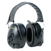 3M Peltor TacticalPro Communications Headsets, 25 dB, Black, Over the Head, 1/EA, #7000127258