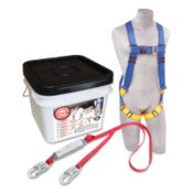 Capital Safety Compliance in a Can Light Roofer's Fall Protection Kits, D-Ring, Hook, 1/EA, #2199810
