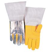 Best Welds High Heat Welding Gloves, Top Grain Cowhide, Large, Buck Tan, 1/PR, #650HL