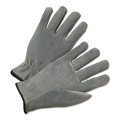 Anchor Products 4400 Series Split Cowhide Leather Driver Gloves, Small, Unlined, Pearl Gray, 12/DZ, #980S
