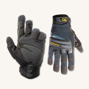 CLC Custom Leather Craft Tradesman Gloves, Black, Medium, 12/DOZ, #145M