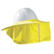 OccuNomix Stow Away Hard Hat Shade, Hi-Viz Yellow, Most Full Brim, 1/EA, #899HVY