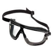 3M GoggleGear for Lexa, Large, Clear/Black Strap, 10/CA, #7010045732