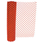 Anchor Products Chain Link Safety Fence, 4 ft x 100 ft, Polyethelene, Orange, 1/EA, #ML200