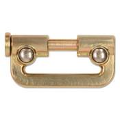 Capital Safety Nano-Lok Single-Leg Connectors, 420 lb, 3.4 in, Gold, 1/EA, #3100088