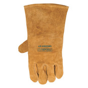 Best Welds Premium Leather Welding Gloves, Leather, Large Left Hand, Buck Tan, 1/PR, #102000LH