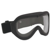 Bolle Chronosoft Safety Goggles, Clear/Black, Ventless, 1/PR, #40102
