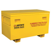 "Justrite Safesite Flammable Combo Safety Chest 29.5""H X 48""W X 24""D, 1/EA, #16036"