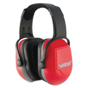 Kimberly-Clark Professional H70 VIBE Earmuffs, 26 dB NRR, Red, Headband, 1/EA, #20774