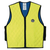 Ergodyne Chill-Its 6665 Evaporative Cooling Vest, 3X-Large, Lime, 1/EA, #12537