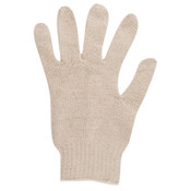 Ansell Lightweight String Knit Gloves, 9, Natural, 12/DZ, #241999
