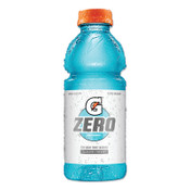Gatorade G Zero Sugar Thirst Quencher, 20 oz., Bottle, Glacier Freeze, 24/CA, #4354