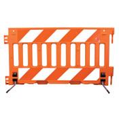 "TrafFix Devices, Inc. ADA Barricade Wall, Orange, 72""L x 38""H, No Sheeting, 1/EA, #57000AOR"
