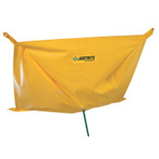 Justrite Ceiling Leak Diverter with Magnets, Yellow, 3.3 gal, 12 ft x 12 ft, 1/EA, #28314
