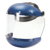 Sellstrom 381 Series Ratchet Faceshield Assembly, Clear, 6-1/2 in W x 19-1/2 L, 1/EA, #S38110