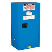 Justrite Sure-Grip EX Compac Hazardous Material Steel Safety Cabinet, 15 Gallon, 1/EA, #861528