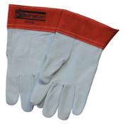 Best Welds 10-TIG Capeskin Welding Gloves, Small, White/Red, 24/CA, #10TIGS