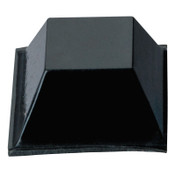 3M Bumpon Protective Products, 1/4 in x 1/2 in, Black, 3000/BX, #7000001904