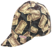 Comeaux Caps Deep Round Crown Caps, One Side, One Size Fits All, Assorted Prints, 1/EA, #1000E