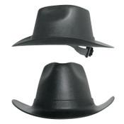 OccuNomix Vulcan Cowboy Hard Hat, Ratchet, Hard Hat, Black, 1/EA, #VCB20006
