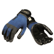 Ansell ActivARMR Heavy Laborer Gloves, Medium, Black/Blue, 12 Pair, #106420